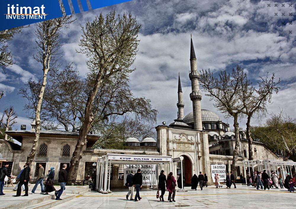 مسجد ایوب سلطان در استانبول